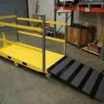 Ramp Trailer (6-Wheel Center Steer)